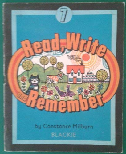 Read, Write and Remember: No. 7 (0216891590) by Milburn, Constance