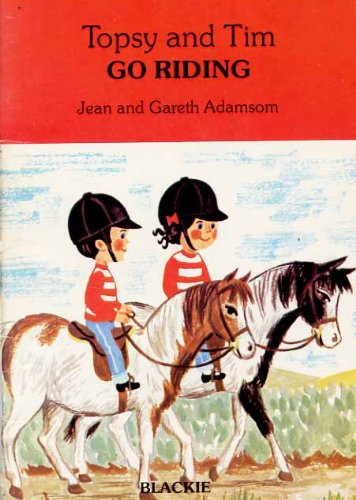 9780216914025: Topsy and Tim Go Riding (Handy Books)