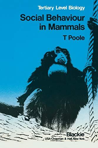 9780216914407: Social Behaviour in Mammals: Tertiary Level Biology