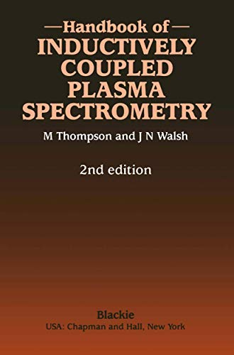 9780216922648: Handbook of Inductively Coupled Plasma Spectrometry: Second Edition