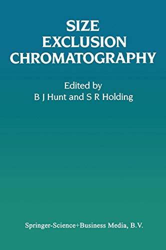 9780216924949: Size Exclusion Chromatography