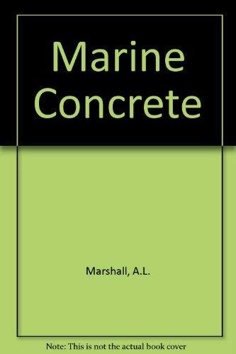 9780216926929: Marine concrete