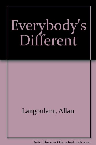 9780216930490: Everybody's Different