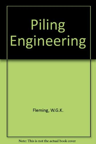 9780216931763: Piling Engineering