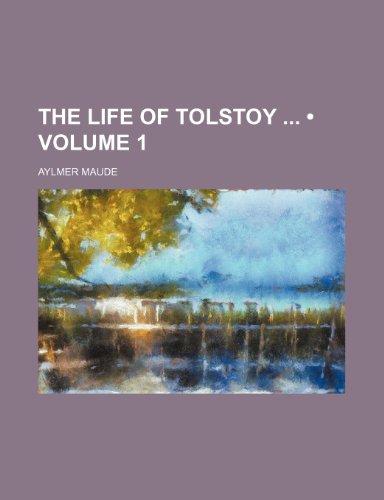 9780217013826: The Life of Tolstoy (Volume 1)