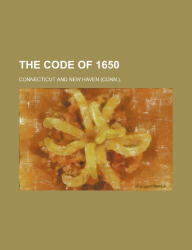 9780217033251: The code of 1650