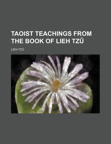 9780217059992: Taoist Teachings from the Book of Lieh Tzu