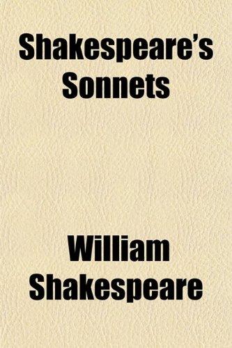 9780217253864: Shakespeare's Sonnets