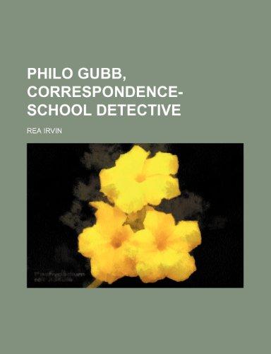 9780217272438: Philo Gubb, Correspondence-School Detective