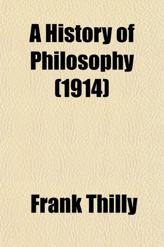 9780217309929: A History of Philosophy