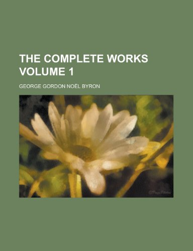 9780217327398: The Complete Works (Volume 1)