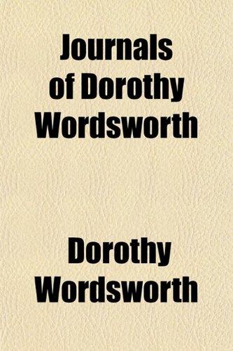 9780217496292: Journals of Dorothy Wordsworth
