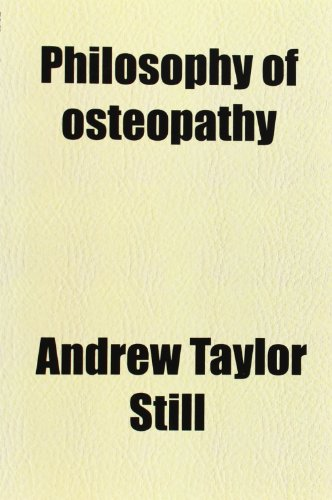 9780217529075: Philosophy of Osteopathy