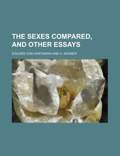 9780217611602: The Sexes Compared, and Other Essays