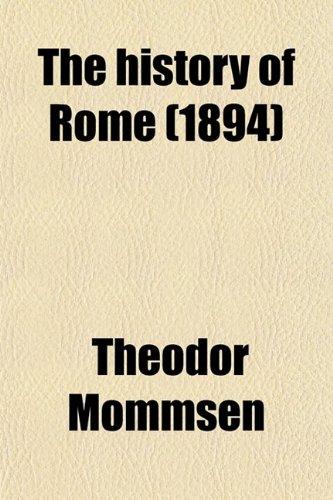 9780217628839: History of Rome (Volume 3)