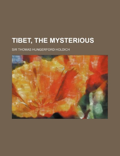 9780217644624: Tibet, the Mysterious