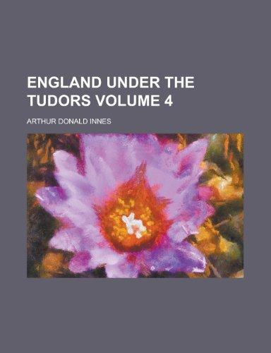 9780217714303: England Under the Tudors (1921)