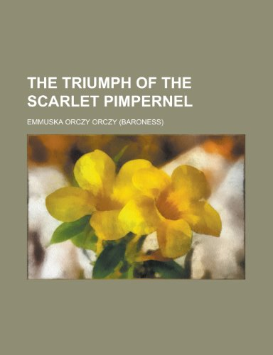 9780217759557: The Scarlet Pimpernel