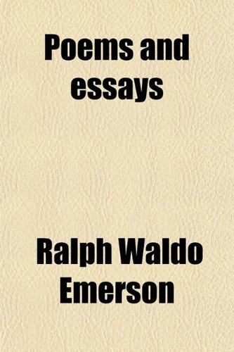 9780217784610: Poems and essays