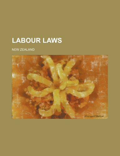 Labour Laws (0217785220) by Zealand, New