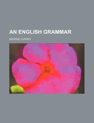 9780217810371: An English grammar
