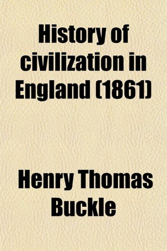 9780217837866: History of Civilization in England
