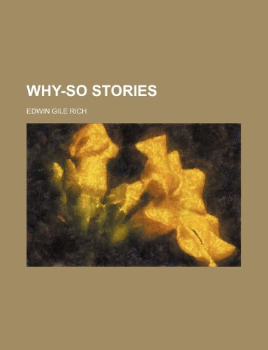 9780217906784: Why-so stories