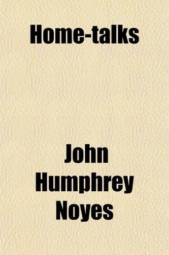 9780217931120: Home-Talks (Volume 1)