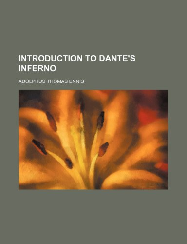 9780217934602: Introduction to Dante's Inferno