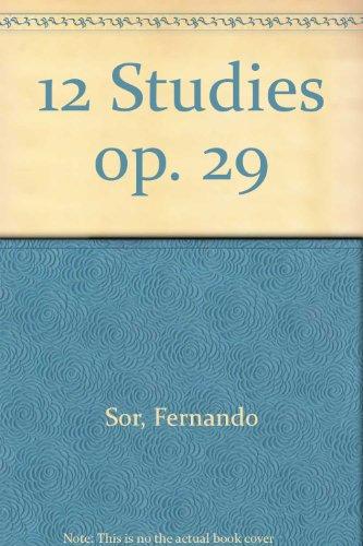 9780220109905: 12 Studies op. 29