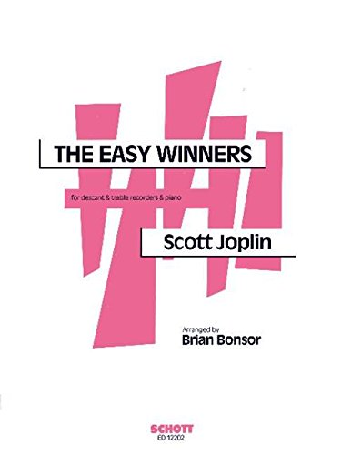 9780220114060: The Easy Winners - soprano- et flûte à bec alto et piano - Partition et parties Partitur = Klavier - ED 12202
