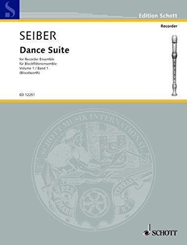 9780220114411: Dance Suite Vol. 1 - 4 flûtes à bec (SATB) - Partition et parties - ED 12251