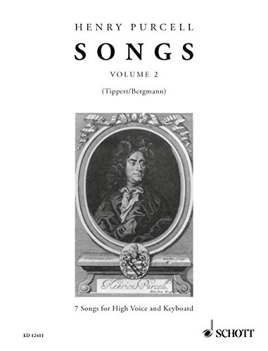 9780220116033: Songs Vol. 2 - 7 Songs - voix haute et piano - ED 12411