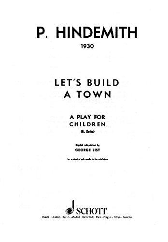 9780220128975: Let's build a Town