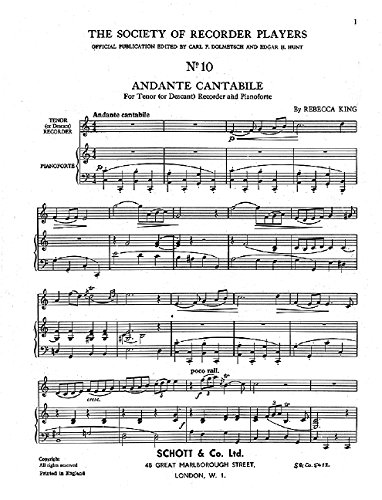 9780220129750: Andante Cantabile - Badinage