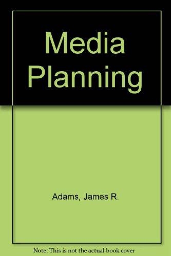 9780220663377: Media Planning