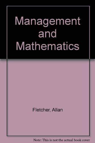 Management and Mathematics: Allan Fletcher, Geoffrey