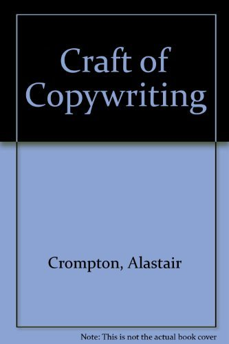 9780220670061: Craft of Copywriting