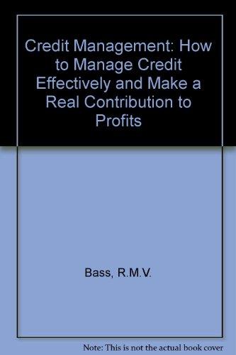 9780220670290: Credit Management