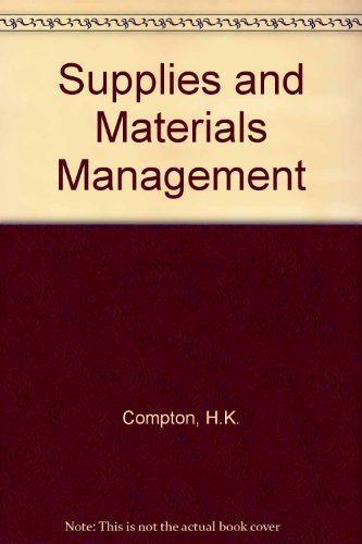 9780220697297: Supplies and Materials Management