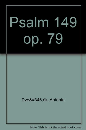 9780221101816: Psalm 149 Op79. Partitions pour SATB, Accompagnement Piano
