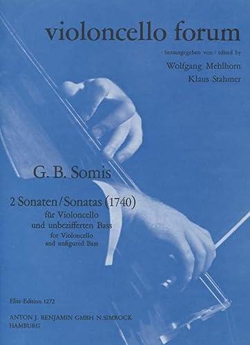 9780221106347: Partitions classique SIMROCK SOMIS G.B. - 2 SONATES (1740) Violoncelle