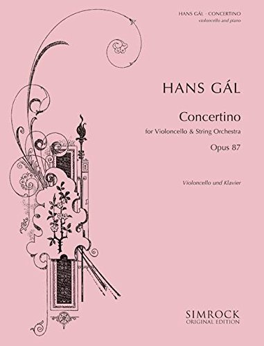 9780221110610: Gál: Cello Concertino in G Minor, Op.87