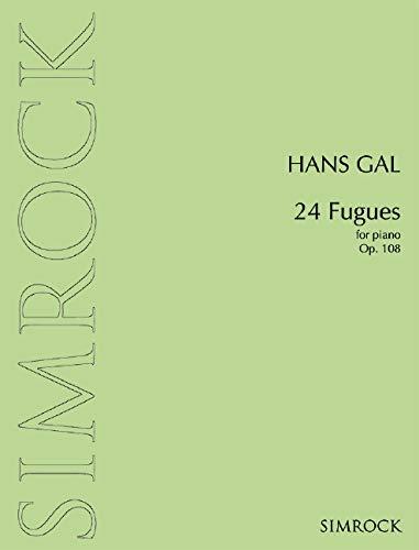 9780221111327: 24 Fugues op. 108