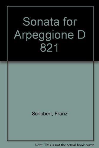 9780221121029: Sonata for Arpeggione D 821