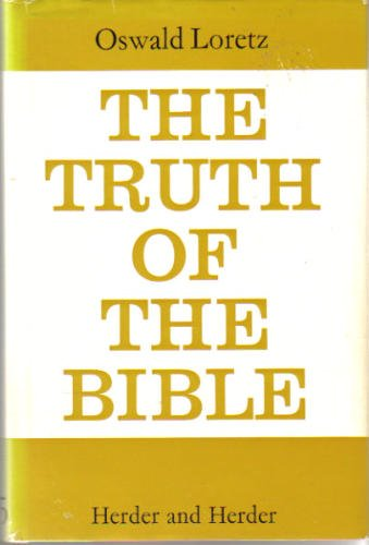 9780223179059: The Truth of the Bible