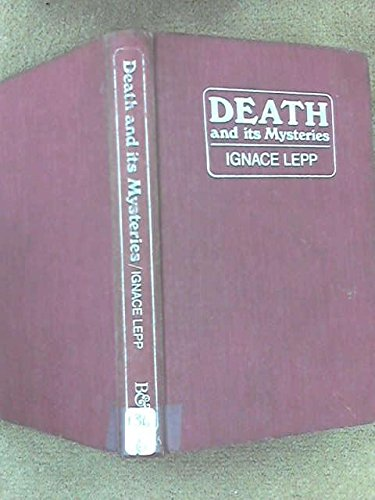 9780223298057: Death and Its Mysteries