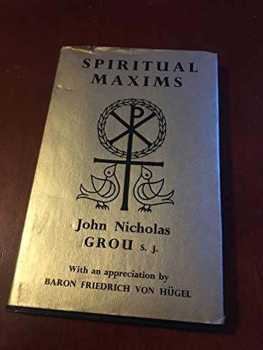 9780223301900: Spiritual Maxims