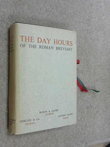 9780223302556: Day Hours of the Roman Breviary