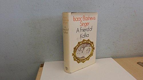 """9780224006002: """"A Friend of Kafka"""